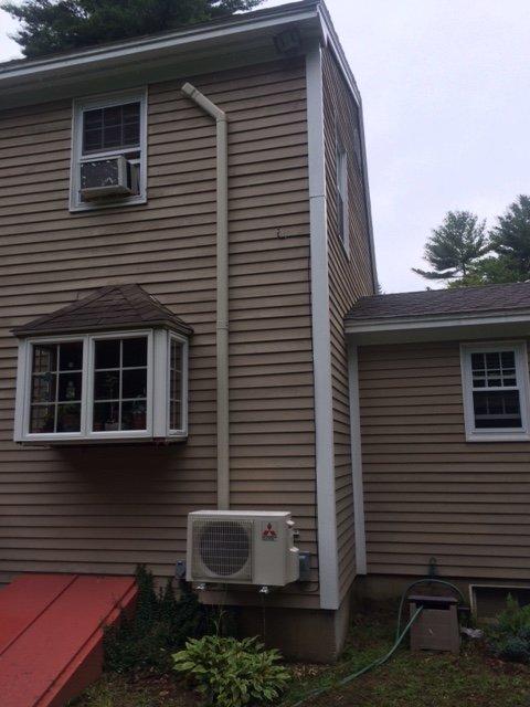 Mitsubishi Heat Pump Installations Greater Portland Maine