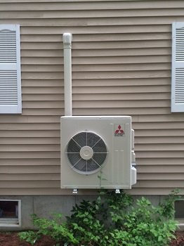 Mitsubishi Heat Pump Installations Greater Portland Maine