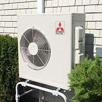 Mitsubishi Heat Pump Cooling