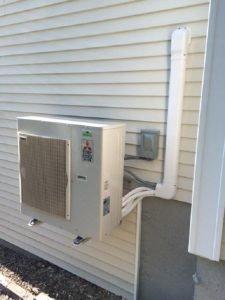 Mtsubishi heat pump Portland Maine