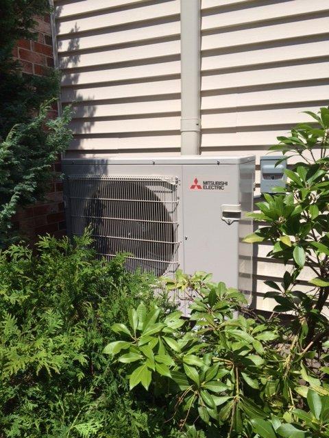 mitsubishi heat pump hyper heat