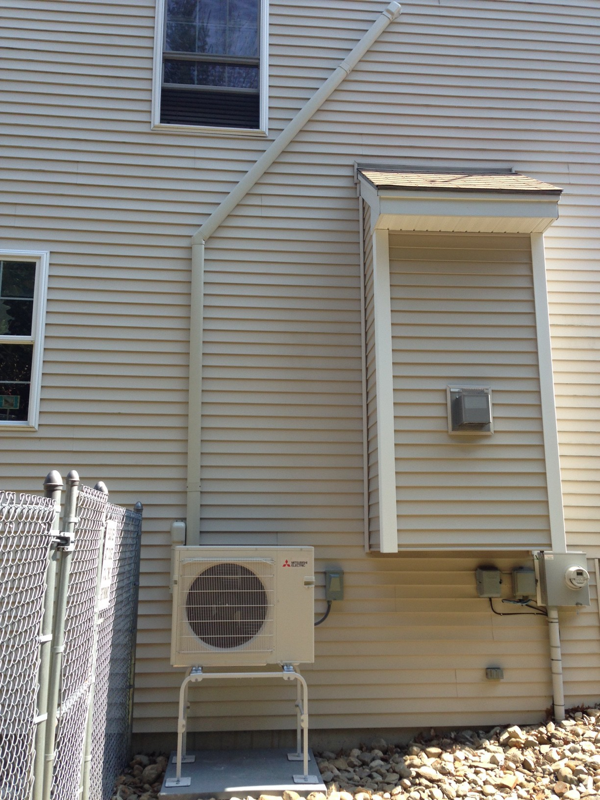 Mitsubishi Mini Split Heat Pump Installation Buxton Maine