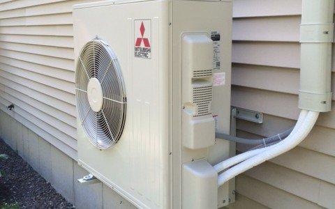 new gloucester, maine heat pump installation